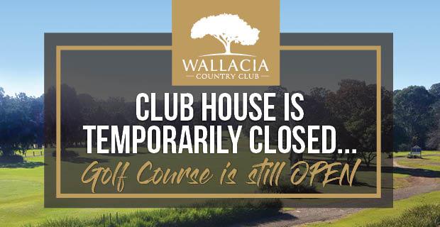 Golf Course is still OPEN