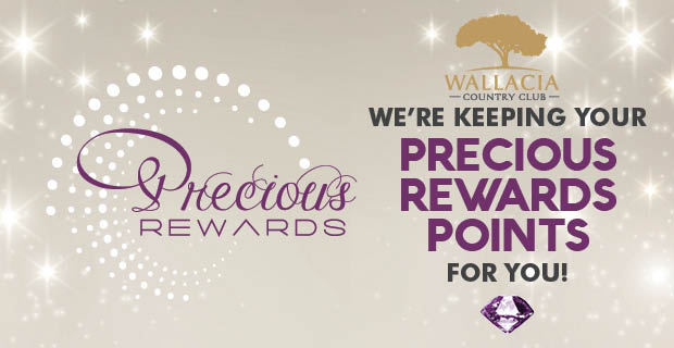 Your Precious Rewards points are waiting for you!