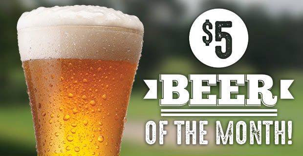 $5 Beer of the Month
