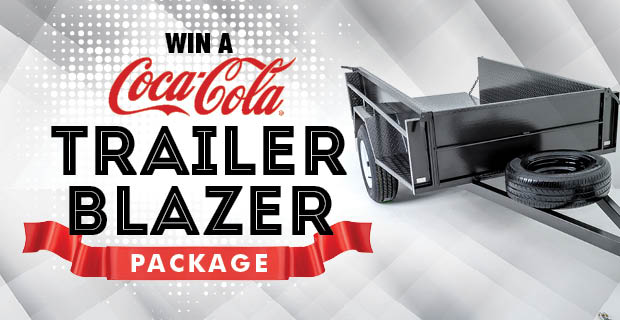 WIN a Coca Cola Trailer Blazer Package